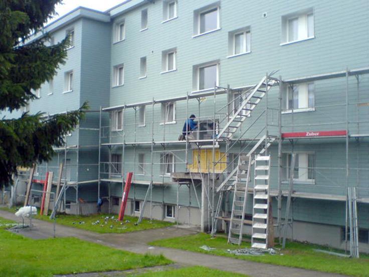 Fassadenbekleidungen mit Eternit